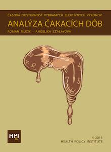 Obálka publikácie Analýza čakacích dôb